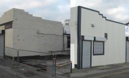 Fastline Shellfish Steel Cladding Refurbishment