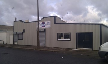 Refurbished steel cladding project