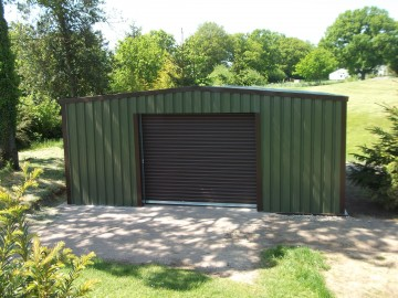 MiracleQube Storage Building For Golf Glub