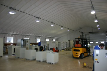 Inside A Miracle Span Prefabricated Workshop