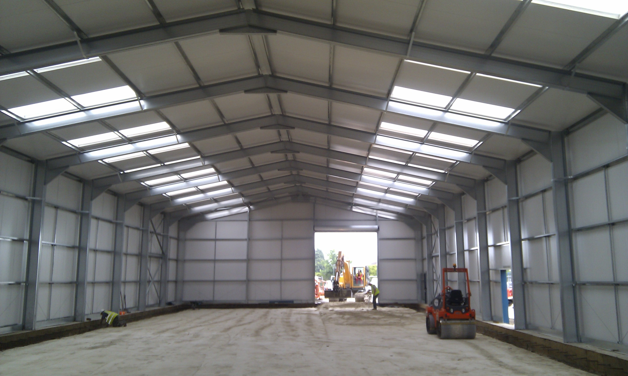 Construction Of Steel Buildings: MiracleLite Cold Rolled Steel Building