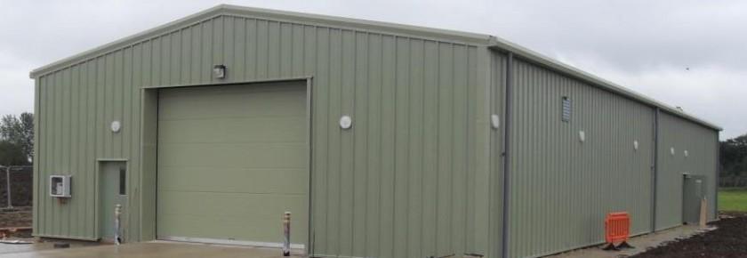 Miracle Portal Storage Building