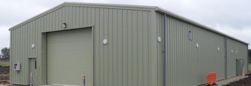 Steel Portal Frame Buildings - Miracle Portal