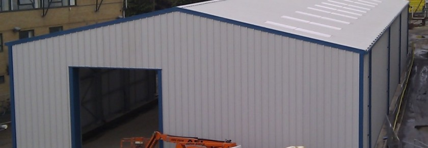 Miracle Portal Prefabricated Steel Workshop