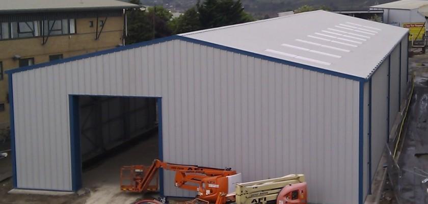 Miracle Portal Prefabricated Steel Workshop