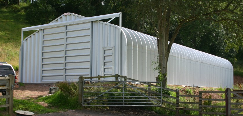 Miracle Span Agricultural Storage Building, Ross on Wye