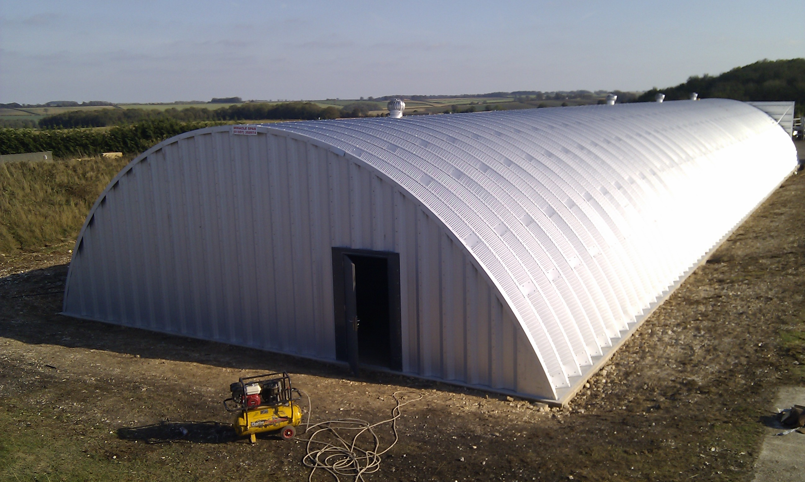 Arched Steel Buildings For Sale By Miracle Span