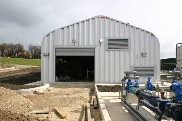 Miracle Span Plant Housing for Yorkshire Water