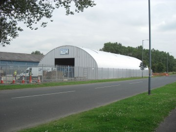 Miracle Span Salt Store Building for Stockton on Tees Council
