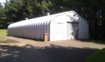 Miracle Span Storage building for Golf Club
