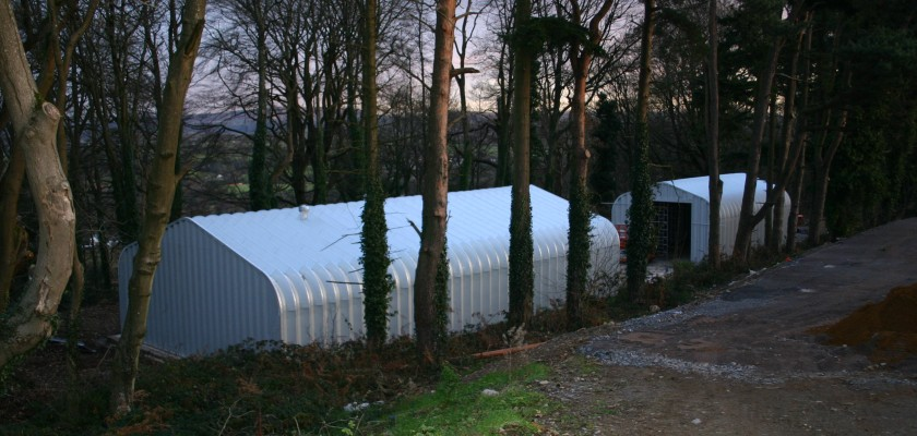 Miracle Span Agricultural Storage Sheds