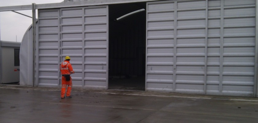 Miracle Span Hangar At Bond Air Services Inverness