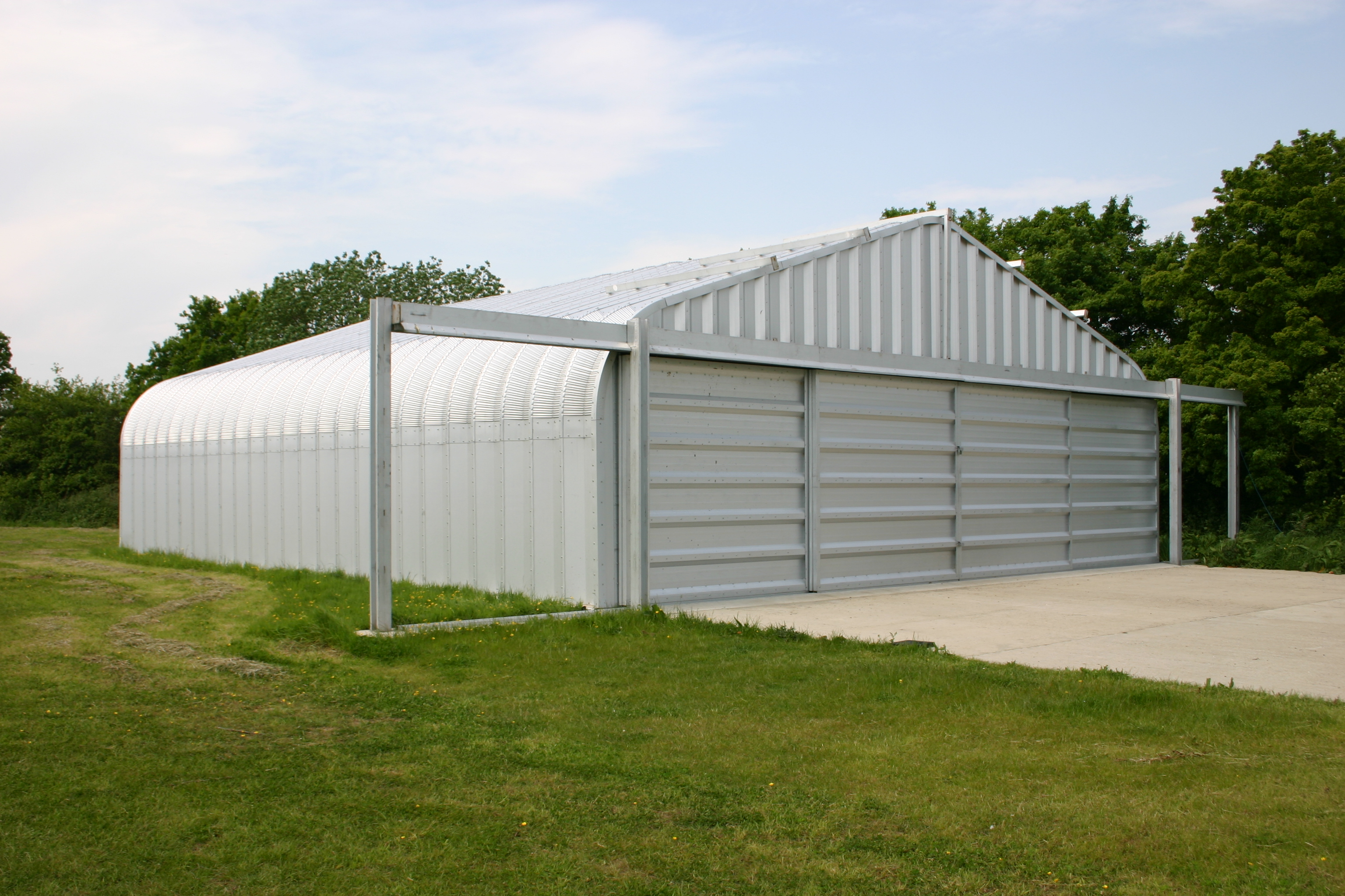 Prefabricated Aircraft Hangars By Miracle Span