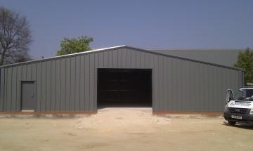 MiracleLite Agricultural Steel Storage Building