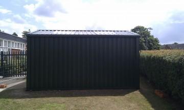MiracleLite Building for Nursery School Storage