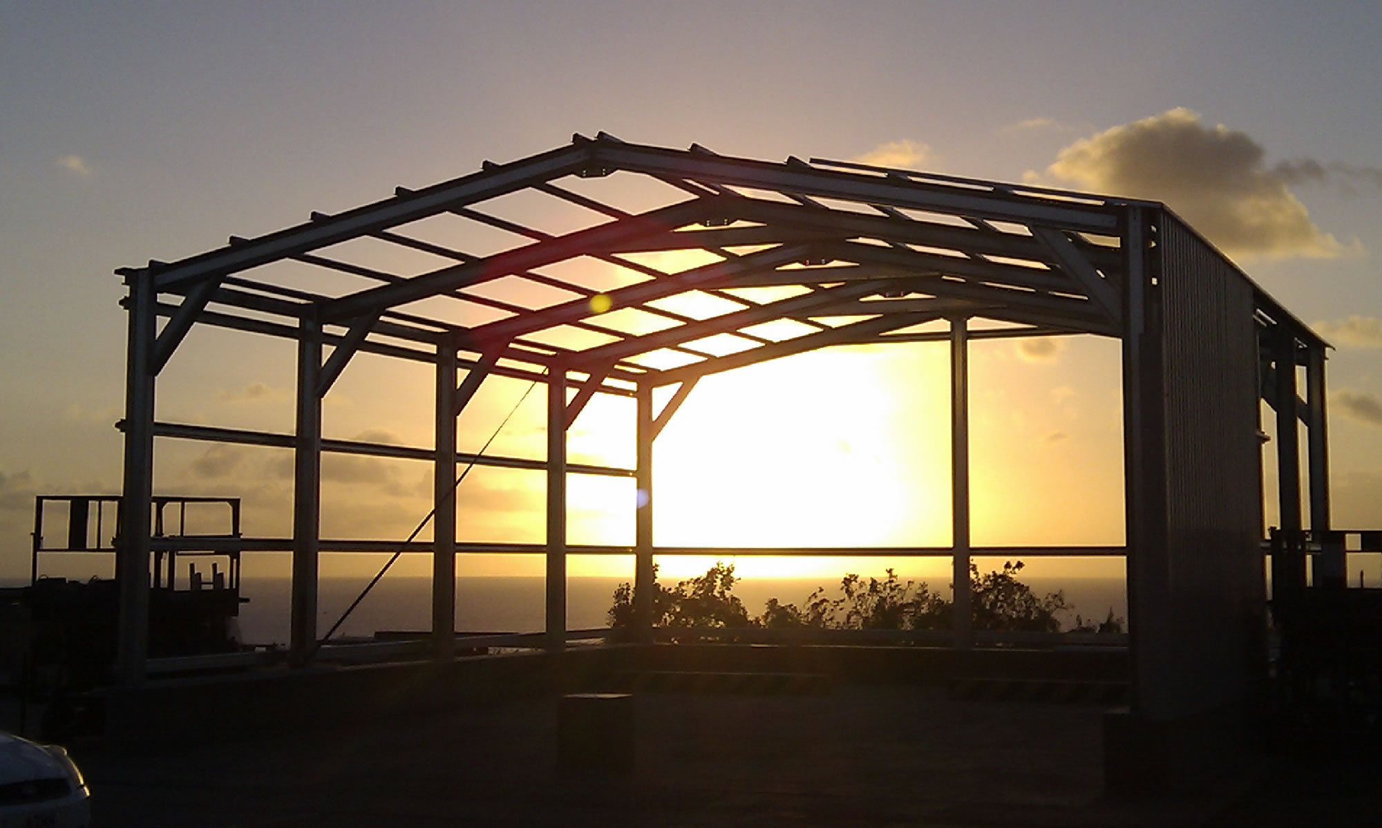 Steel Framed Buildings Offered By Miracle Span
