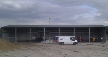 MiracleLite Industrial Steel Building for Earthtech Engineering