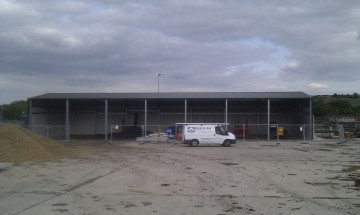 MiracleLite Storage Building for Yorkshire Water