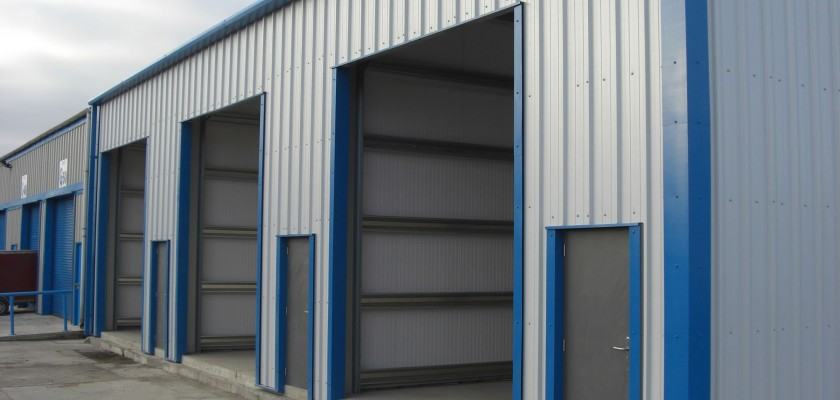 Commercial Building Cladding - Choice of cladding