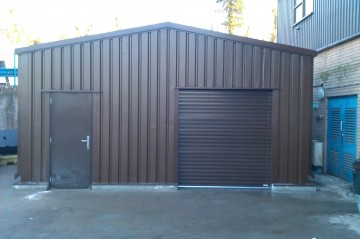 MiracleLite storage building for Kelda Water
