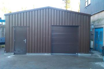 MiracleLite storage building for Kelda Water