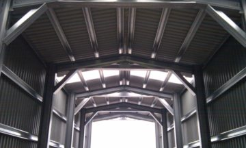Inside A Miracle Span Building