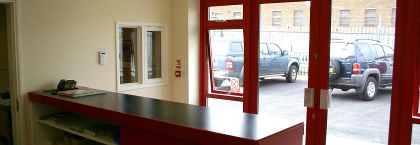 Steel Workshop, Office & Reception