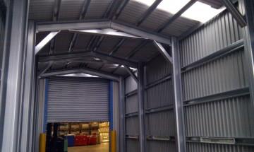View Inside MiracleLite Industrial Building