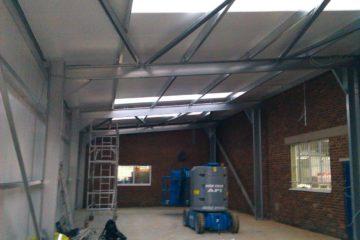 Steel frame extension
