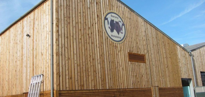 Wood Clad Miracle Portal Building