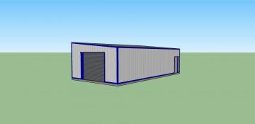 Monopitch Steel Building