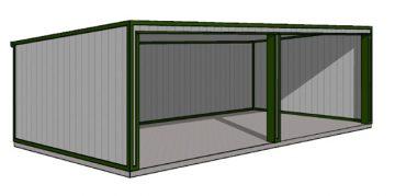 Steel Storage Shed