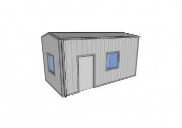 Insulated Home Workshop Building