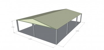 MiracleLite Roof Structure