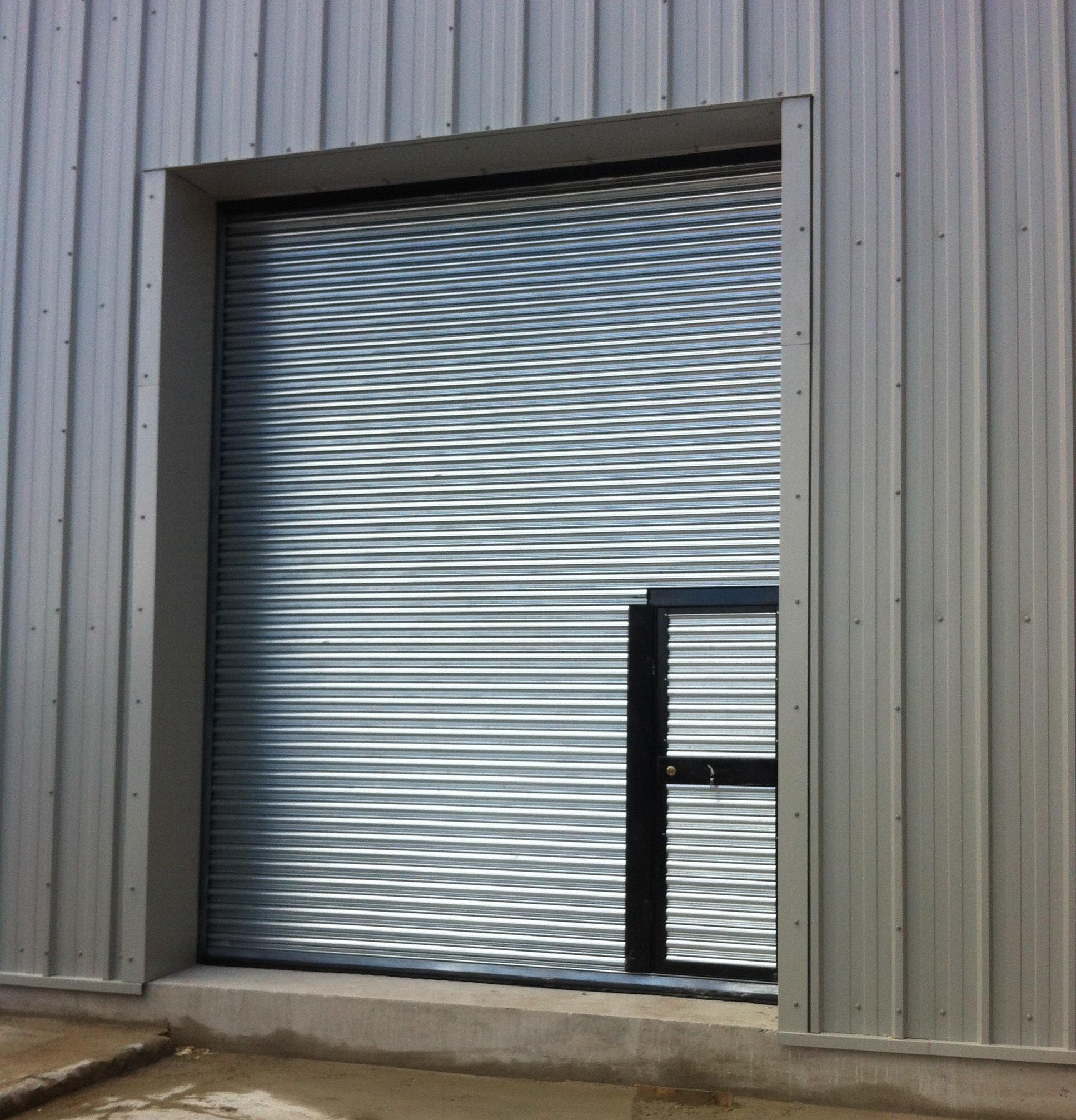 Roller Shutter Doors : Steel building doors miracle span