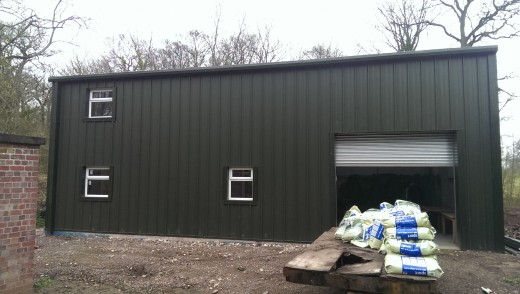 MiracleLite Steel Building for Golf Club with mezzanine