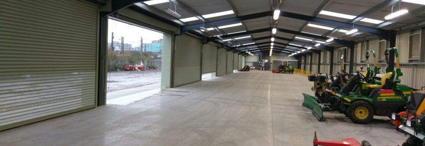 Commercial Storage Building