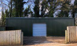 Storage building for golf club