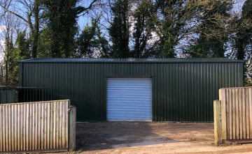Storage building for golf club
