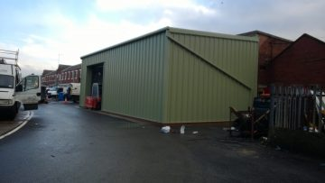 Lean-to Loading Bay