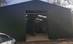 MiracleLite steel storage building