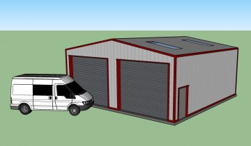 Commercial Vehicle Storage Building